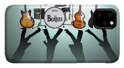 John Lennon Art Beatles iPhone Cases