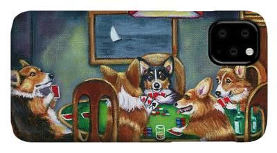 Cardigan Welsh Corgi iPhone Cases