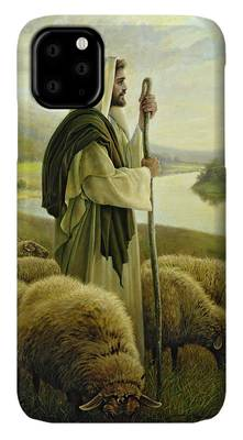 Sheep Paintings iPhone Cases