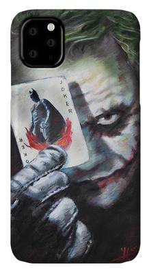 Heath Ledger Joker Iphone Cases Fine Art America