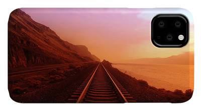 Train Photographs iPhone Cases