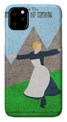 The Sound Of Music iPhone Cases