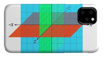 Cartesian Coordinates Iphone Cases Fine Art America