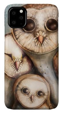 three wise owls iphone 11 case