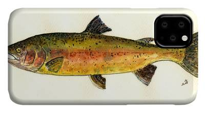 King Salmon iPhone Cases