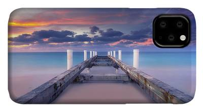 Caribbean Sunset iPhone Cases