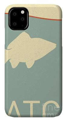 Fish Bowl Digital Art iPhone Cases