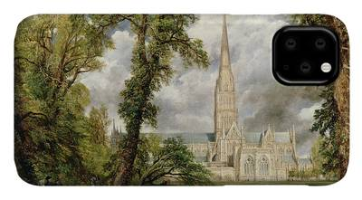 Salisbury Cathedral iPhone Cases