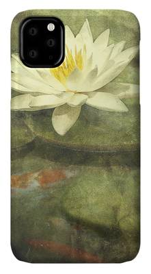 White Water Lily iPhone Cases