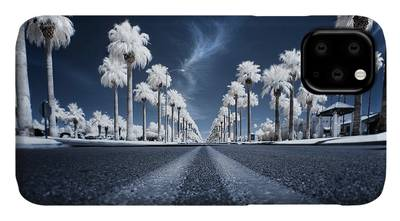 Infrared Photographs iPhone Cases