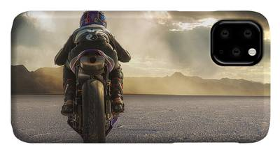 Motorcycle Photographs iPhone Cases