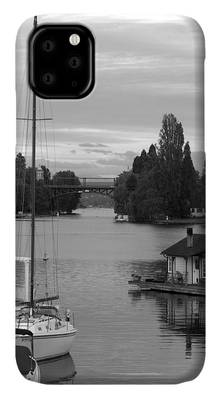 Houseboat Photographs iPhone Cases