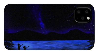Glowing Lake iPhone 11 case