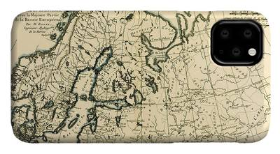 Baltic Sea Drawings iPhone Cases