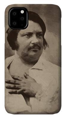 Honore De Balzac Iphone Cases Fine Art America