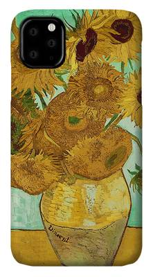 Yellow Flower iPhone Cases