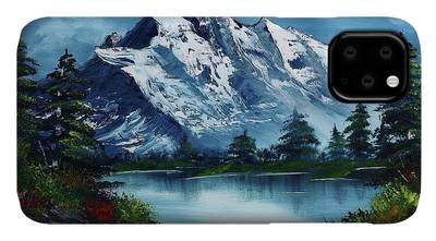 Bob Ross Paintings iPhone Cases
