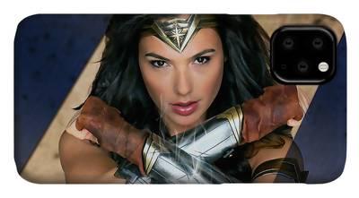 Wonder Woman Art 3 iphone case