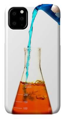 Chemistry laboratory equipment iPhone 11 case