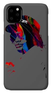 Easy E Mixed Media iPhone Cases