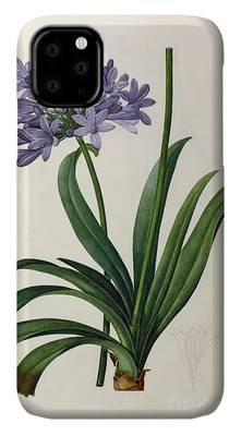 Purple Lilies iPhone Cases