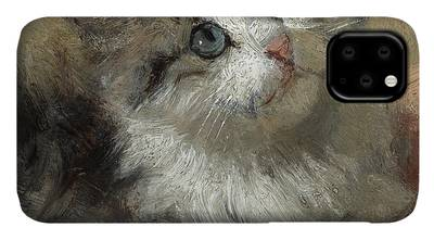 Henriette Ronner-knip iPhone Cases