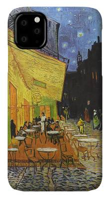 Painting - Arles Cafe Terrace At Night by Travel Pics
