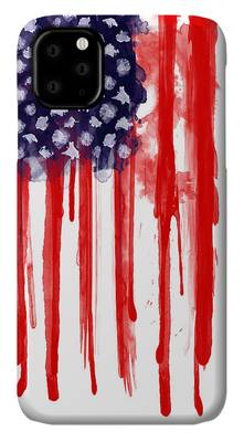 Usa Paintings iPhone Cases