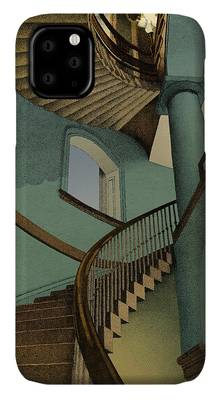 Stair Drawings iPhone Cases