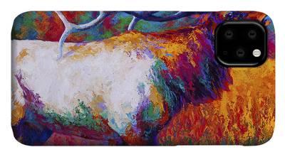 Bull Elk iPhone Cases