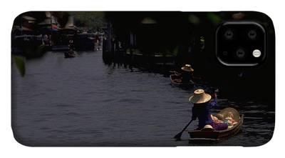 Photograph - Bangkok Floating Market by Travel Pics