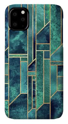 Blues Digital Art iPhone Cases