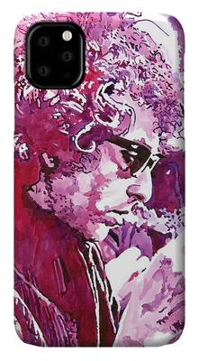 Bob Dylan Rock Music iPhone Cases
