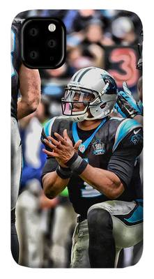 White Uniform Cam Newton Dab iphone case