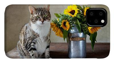 Designs Similar to Cat And Sunflowers