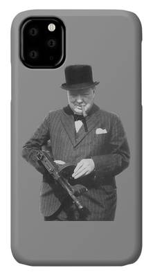 Sir Winston iPhone Cases