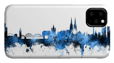 Cologne Germany Skyline iphone 11 case