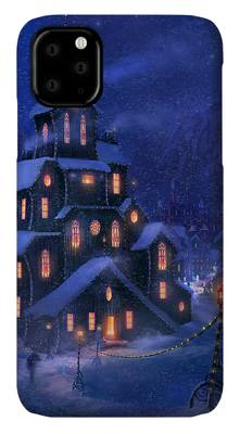 Christmas In Town iphone case