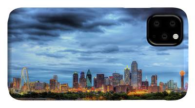 Dallas Skyline iPhone Cases