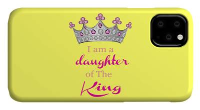 Daughter Mixed Media iPhone Cases