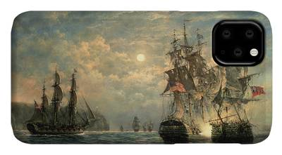 Action Paintings iPhone Cases