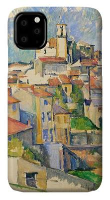 Painting - Gardanne By Paul Cezanne by Paul Cezanne