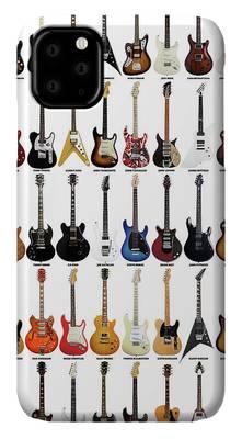 Slash Guitar iPhone Cases