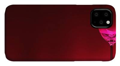 Red Apple Digital Art iPhone Cases