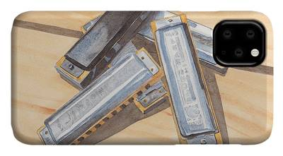 Harmonica iPhone Cases
