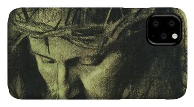 Religious Drawings iPhone Cases