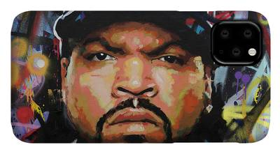 Easy E Paintings iPhone Cases
