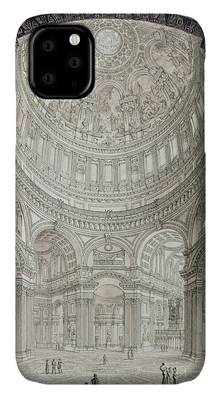 Religious Architecture Drawings iPhone Cases