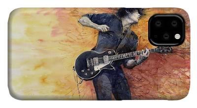 Guitarist iPhone Cases