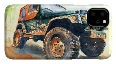 Offroading iPhone Cases